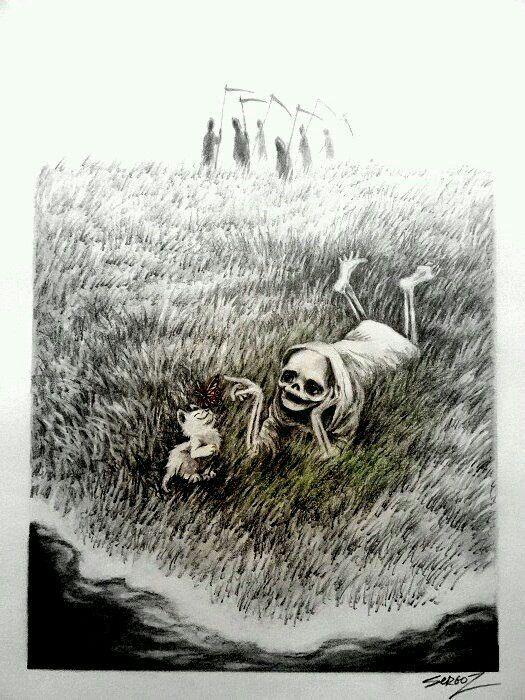 Днем, картинки будни маленькой смерти