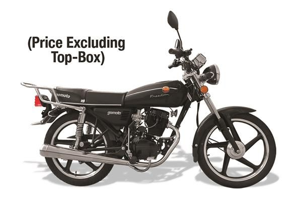 The Freedom 125 and 150cc- if you want to fight for Freedom, GoMoto is the right place to be.