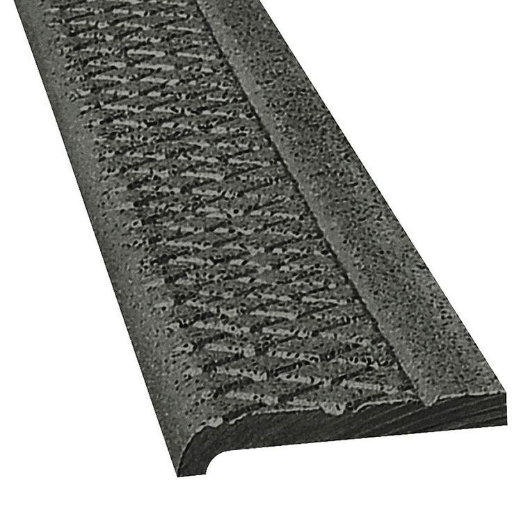 Best Wooster Products Black Abrasive Cast Iron Stair Nosing 400 x 300