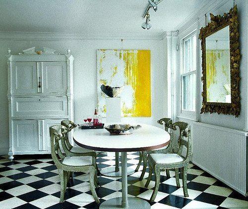 Kitchen Flooring Apartment Therapy: Best 25+ Checkerboard Floor Ideas On Pinterest