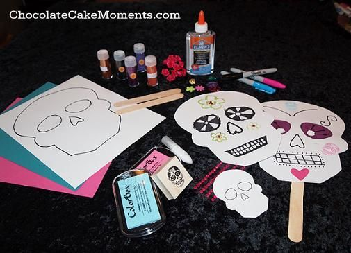 9 best dia de los muertos books for kids images on for Day of the dead crafts for preschoolers