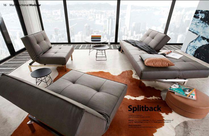 Sofá Splitback de Per Weiss