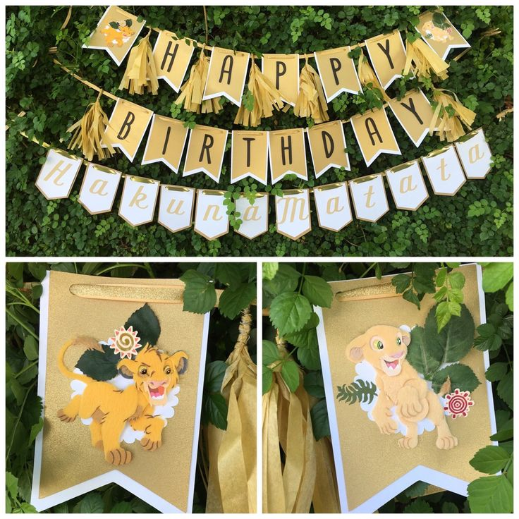 Lion King Birthday banner by MyLaRoux on Etsy https://www.etsy.com/listing/252536908/lion-king-birthday-banner