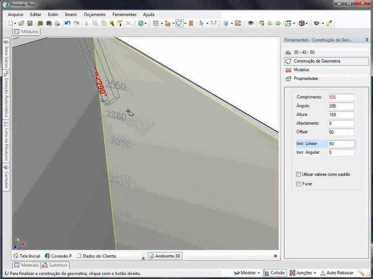 Geometria - Representar teto com caimento