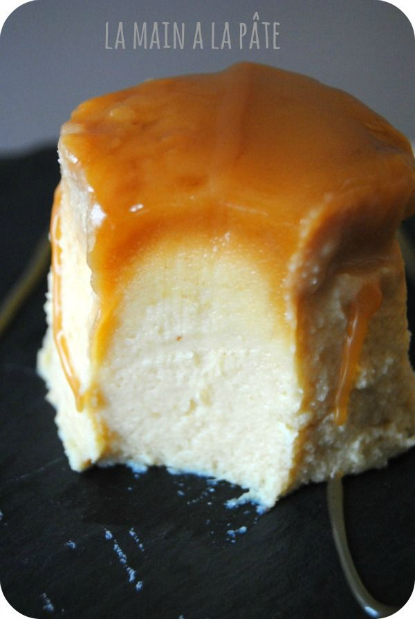 Flan brioché au caramel au beurre salé