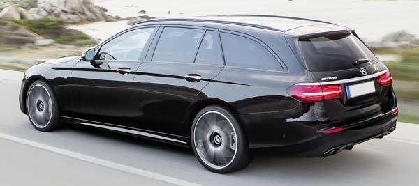 Mercedes E-Class All Terrain with plug-in hybrid at 2016 Paris auto show