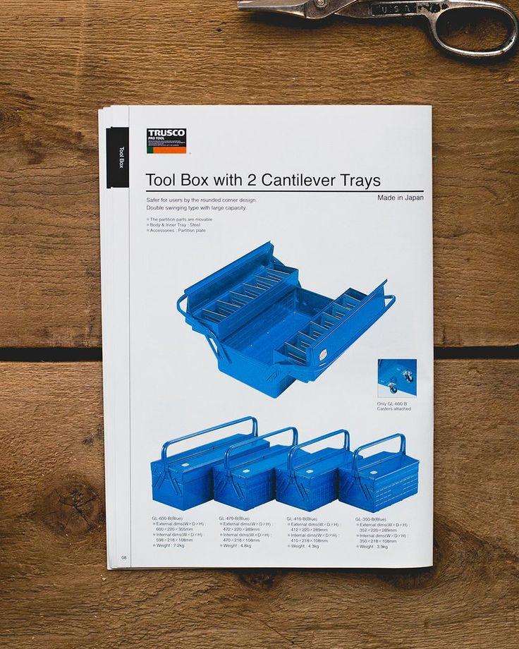 Trusco 2-Level Cantilever Tool Box – Hand-Eye Supply
