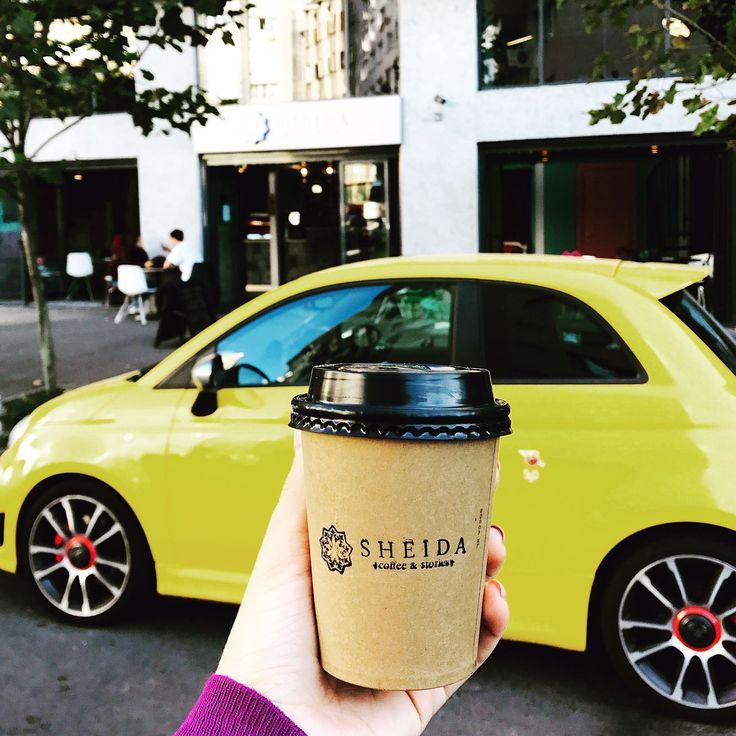 Sheida Coffee & Stories on wheels. Yummy specialty to go coffee.