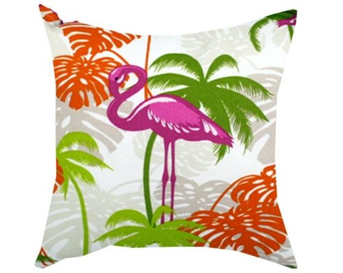 flamingo bolster cushions