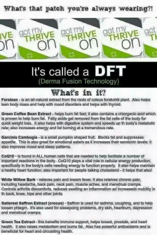 Thrive DFT patch-check it out at http://KatBain.Le-Vel.com                                                                                                                                                      More