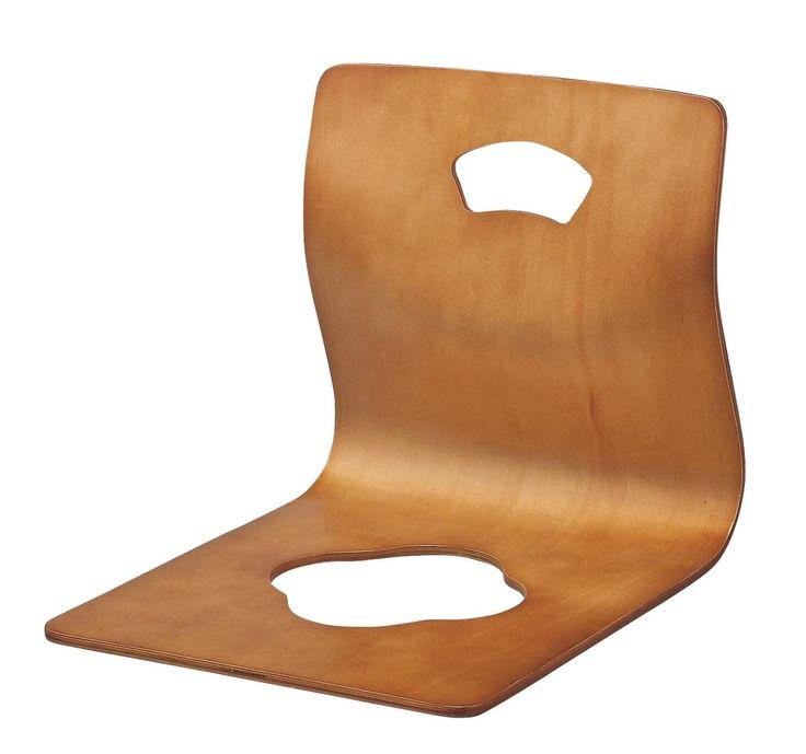 Amazon|【和風家具】座イス・GZ395・3色・完成品 (番号:br / 商品内訳:.ブラウン)|座椅子 オンライン通販
