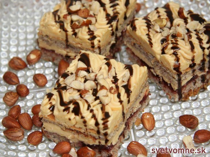 Orieškovo karamelový zákusok, recept