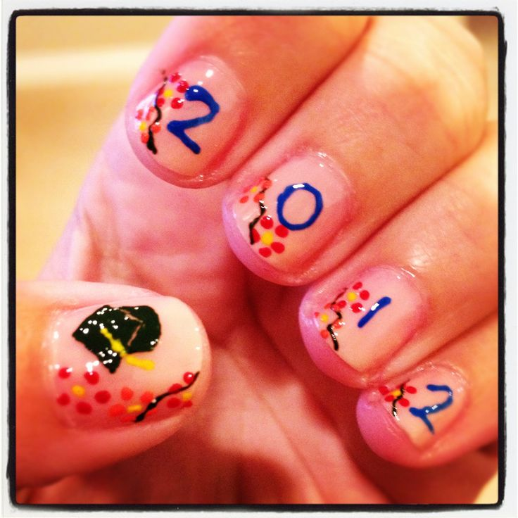 Nail Ideas For Graduation: 29 Best Images About Graduation Nail Ideas On Pinterest