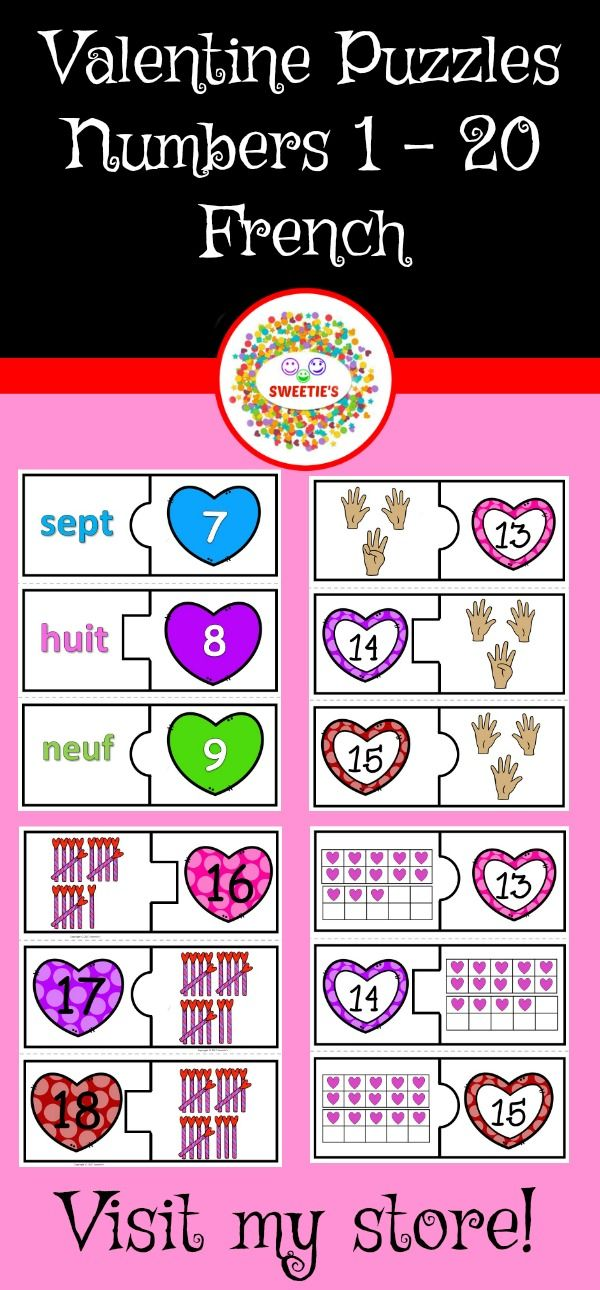 number puzzles 1 to