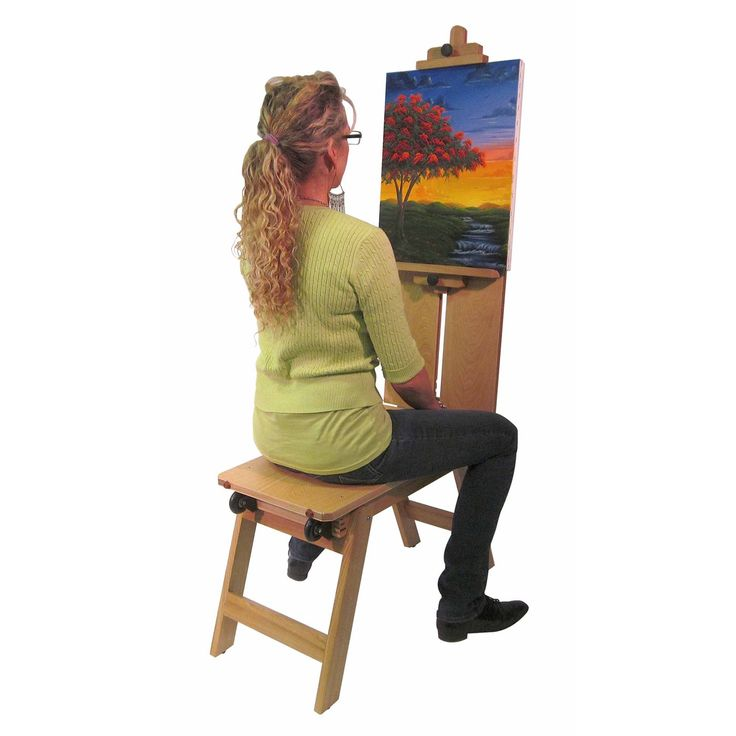 Artist Bench Easel Woodworking Projects Amp Plans