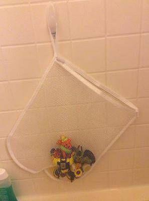 bath toy storage organization ideas