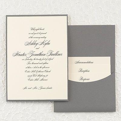 36 best Pocket Wedding Invitations images on Pinterest