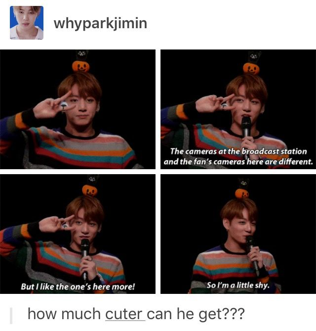 Jungkook you sweetie