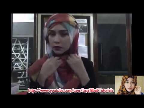 Tutorial Hijab-Pashmina Segiempat Special Lebaran Model Terbaru Zaskya - Cara Berhijab Wanita Muslimah Trend Masa Kini