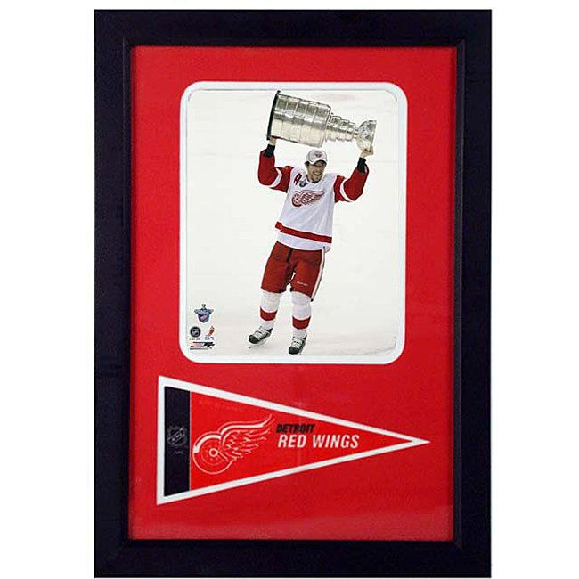Encore Select Pavel Datsyuk 12x18 Framed Print and Pennant Collectible