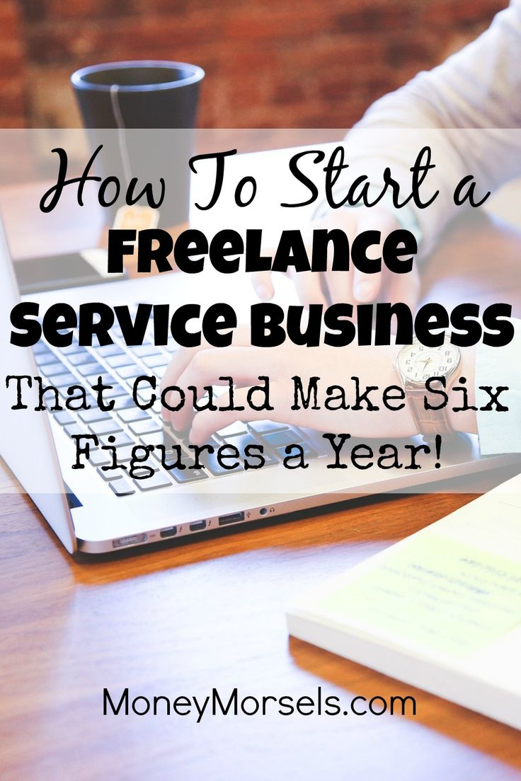 If selling products or starting a blog is not your thing, you should consider starting a freelance service business doing things like writing, web design, or graphics. The income potential is definitely in the six figures!