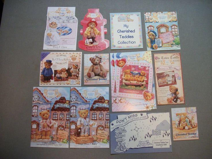 много Cherished Teddies город таttlеr членство информационные бюллетени и брошюры
