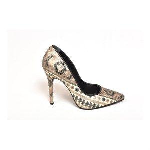 10002 Kadın Stiletto Ayakkabı