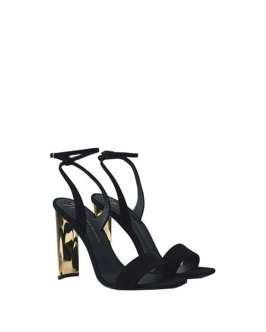 1172e665bbf Giuseppe Zanotti - Black Sandals - Lyst