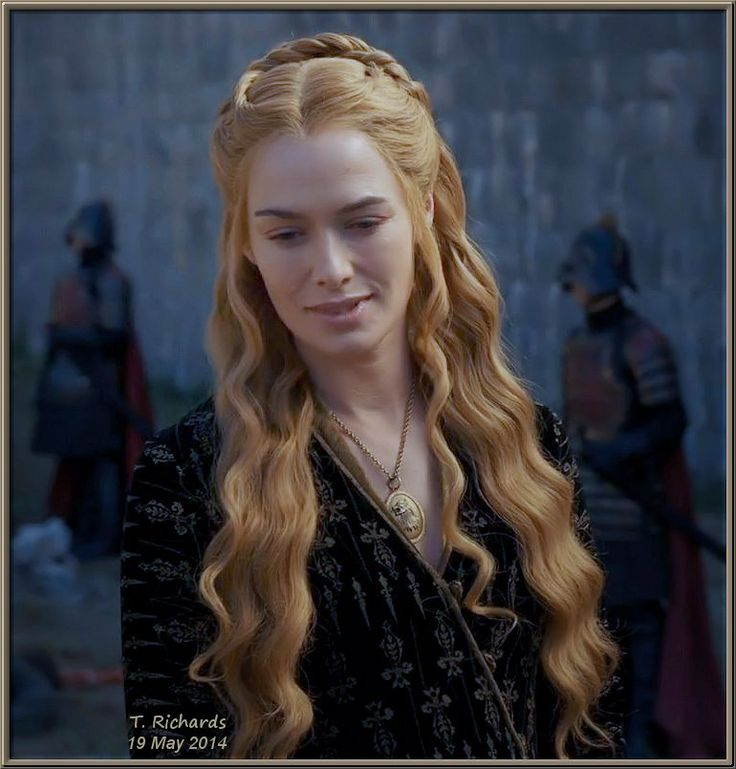"S4-E7 (aired 5/18/2014 USA): Cersei admiring ""The Mountain"" at work"