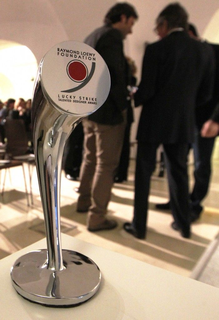 #LuckyStrike Talented #Designer Award. The prize designed by Massimo #IosaGhini.