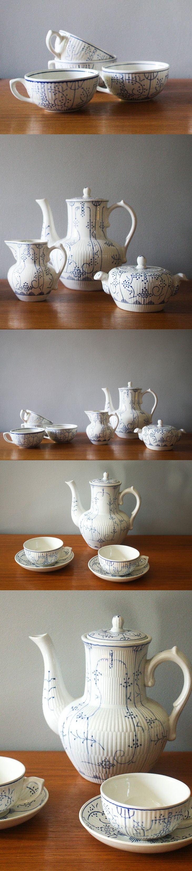 1000 images about boch on pinterest pastel belgium and for Set petit dejeuner porcelaine