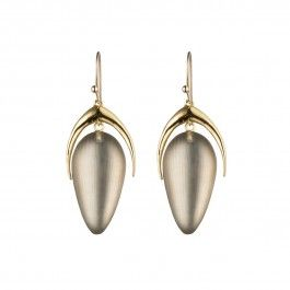 Neo Bohemian Crescent Wire Drop Earrings - £90.00 (Designer: Alexis Bittar)