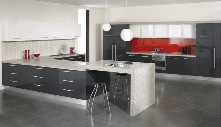 Laminate Kitchens Custom Designed & Built | UZIT