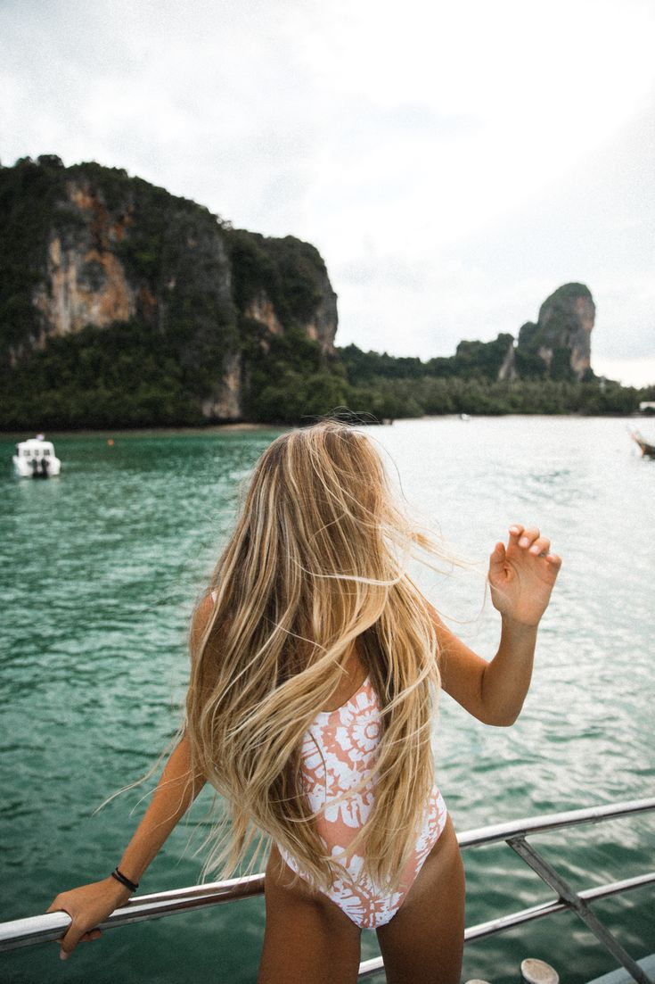 OAHU, Hawaii / Heather Goodman North Shore Photographer / Travel, Photography, Education. Boat rides in beautiful Krabi, Thailand. The ferry is the main way to island hop from Phi Phi to Railay beach! #wanderlust #travel