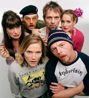 Spaced - Such a good show! Look it's got Simon Pegg!