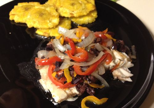 A quick easy and healthy recipe for corvina snapper for Corvina fish recipes