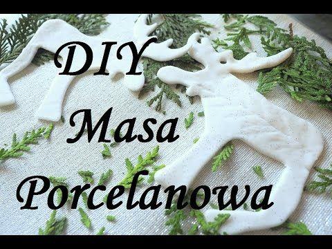 Masa Porcelanowa prosty przepis jak zrobić zimną porcelanę bez gotowania, sucha porcelana. - YouTube
