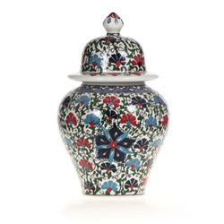 Classical Turkish Iznik Ceramic Ginger Jar