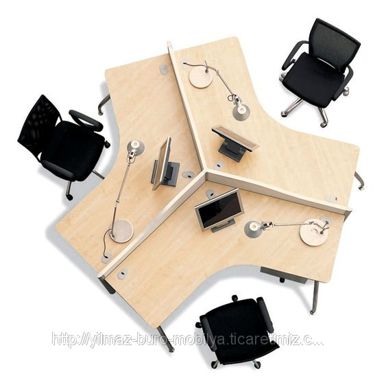 Üçlü Personel Masası