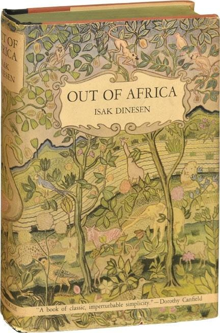 Safari Tapete Out Of Africa : Out of Africa Book
