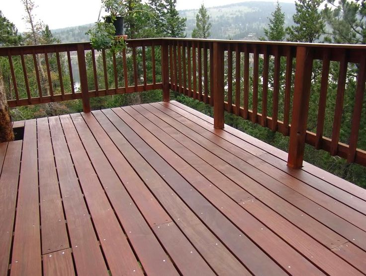 14 best deck railings images on pinterest deck balusters for Wood deck designs free