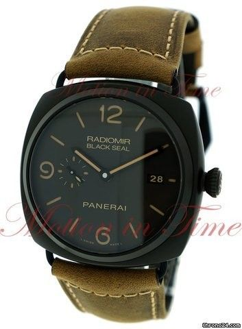 Panerai Radiomir Black Seal 3-Day Automatic, Black Dial, Limited Editon to 2000 Pieces - Composite C