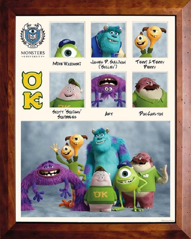 Monster's University - OK Fraternity