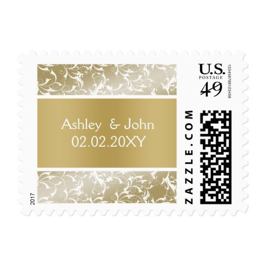 champagne gold Baroque Wedding Postage http://www.weddingpaperlove.com/champagne_gold_baroque_wedding_postage-172824362093153653.html #weddings #bridal #bridetobe #weddingplanning