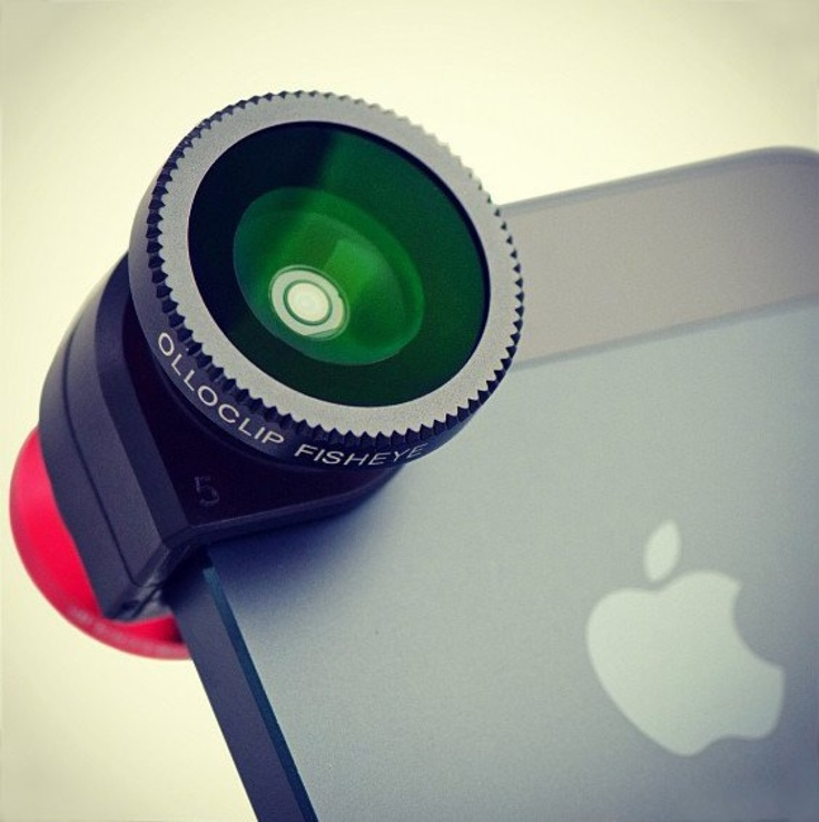 Olloclip for IPhone 5 is a 3-IN-ONE lens system. The olloclip is a quick-connect lens solution for the iPhone that includes fisheye, wide-angle and macro lenses in one small, convenient package that easily fits in your pocket.
