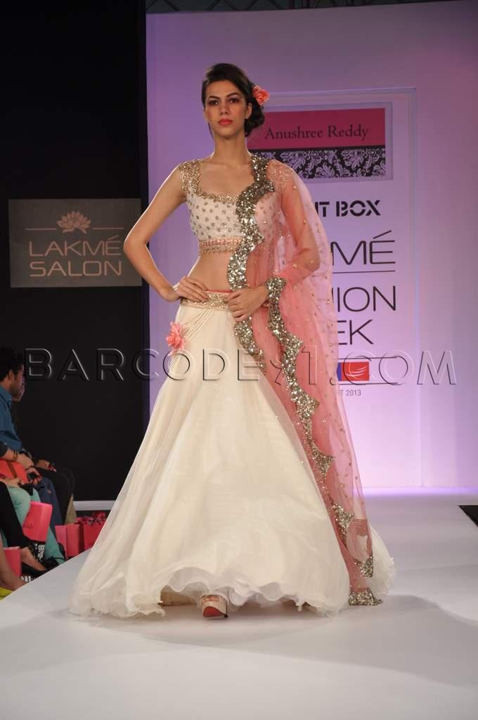 Lehenga- Anushree Reddy at Talent Box-2013