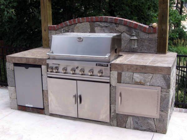 kitchen island grill 107 best images about bbq islands on covered 13468
