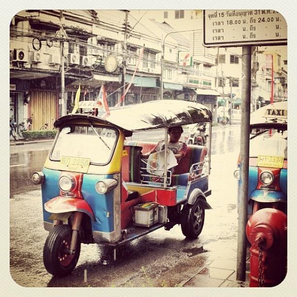 Tuktuk, Bangkok, Thailand