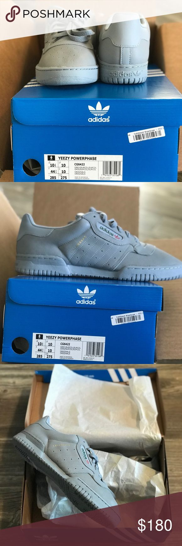adidas YEEZY Powerphase Grey Sz: 10.5 Purchased on release date Never worn Purchased from Yeezysupply.com Message me for more details adidas Shoes Sneakers