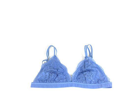 Lace lingerie soft bra lined bralette lace bra by BohemiaGoods